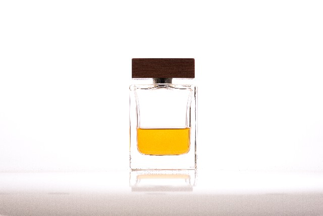 瓶に入った香水
