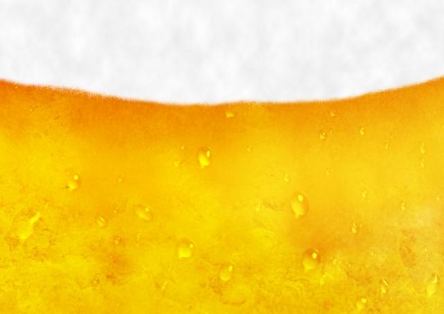 生ビール01【水滴あり】