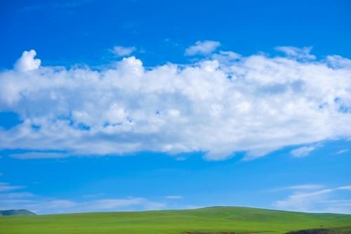 モンゴルの青空